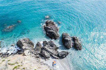 Klein strandje von Bernardine de Laat