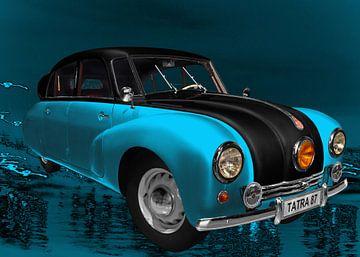 Tatra 87 in blauw & zwart van aRi F. Huber