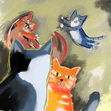 Katzensprung Teil 2 von Nicole Habets