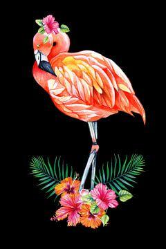 Flamingo von Geertje Burgers