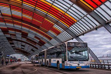 Amsterdam Bus Station van