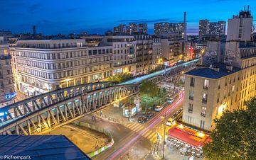 Metro Parisien  van Sébastien Béhotte