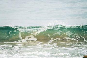 Golven in zee van Nicole Nagtegaal