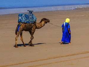 Together at the beach of Agadir. van brava64 - Gabi Hampe
