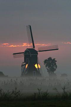 ochtend molen van Bart Hardorff