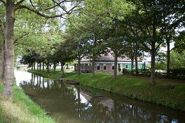 Typerend beeld uit Twisk, Westfriesland van Kees van Dun