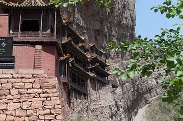 zijkant hangend klooster van Robert Lotman