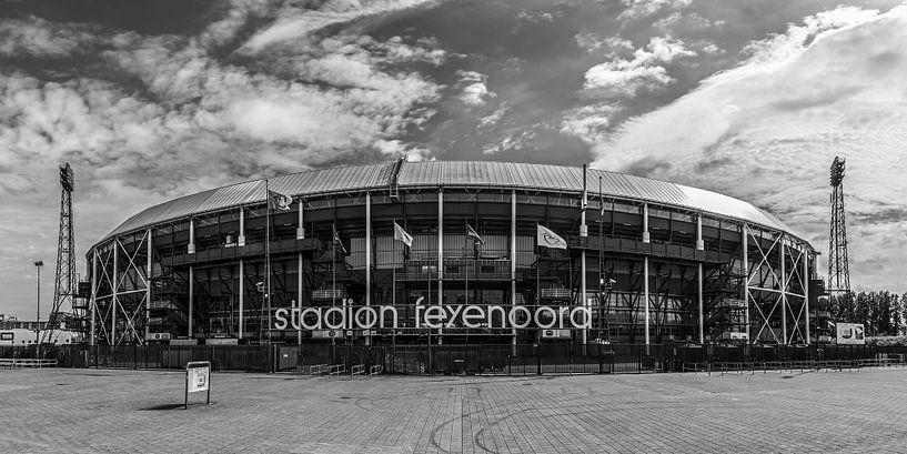 "Feyenoord Stadion ""De Kuip"" in Rotterdam van MS Fotografie   Marc van der Stelt"