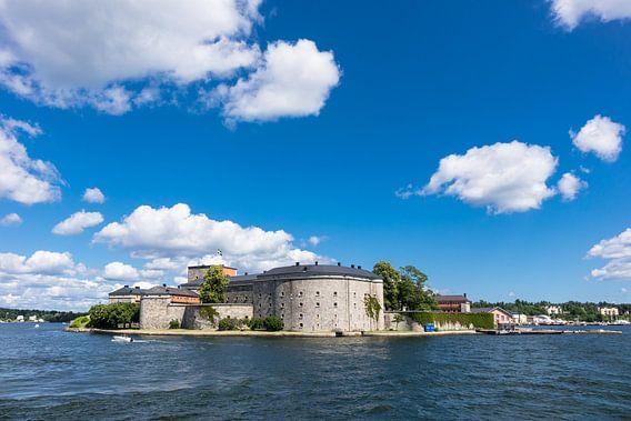 Vaxholm on the swedish archipelago