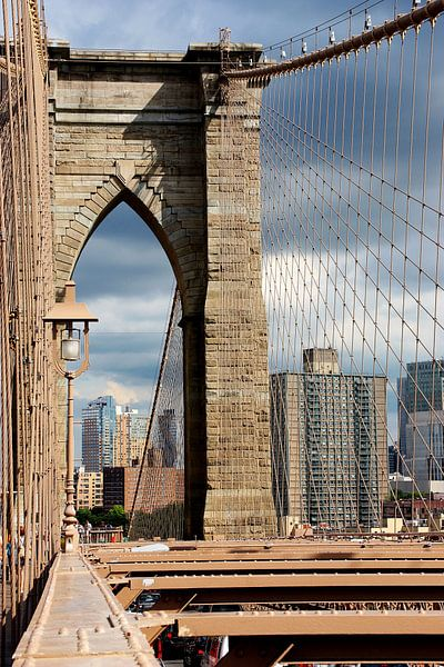 new york city ... brooklyn bridge VI van Meleah Fotografie