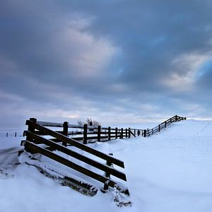 Winter in Stavoren Friesland Vierkant formaat