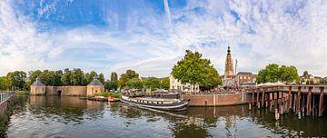 Panoramafoto Breda - Hafen - Spanjaardsgat - Große Kirche von I Love Breda