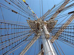 mast van een Tallship van
