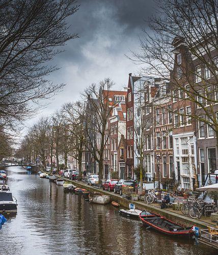canaux d'Amsterdam sur