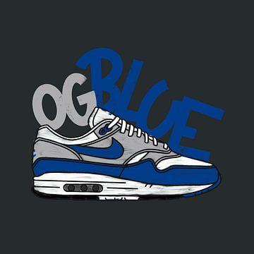 """Nike Air Max 1 """"OG Blau"""" von Pim Haring"""