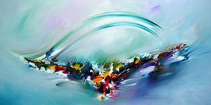 Abstract Flying van Gena Theheartofart