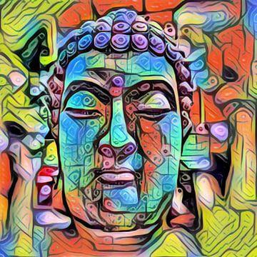 Buddha Shadow 07032021 von Michael Ladenthin
