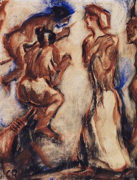 Hexenritt, Christian Rohlfs, 1916 von Atelier Liesjes
