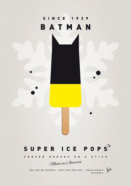 My SUPERHERO ICE POP - BATMAN van Chungkong Art