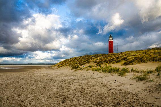 Duinen en vuurtoren Eierland   Texel van Ricardo Bouman   Fotografie