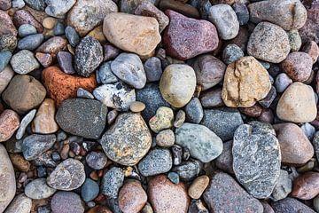 Steine an der Ostseeküste bei Meschendorf von Rico Ködder