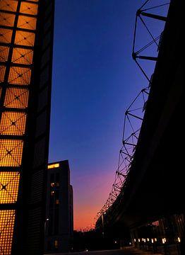 Zonsondergang in Berlijn van See Like Me