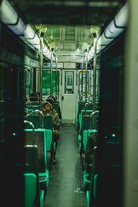 Metro in Parijs van