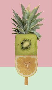 fruitijsje ananas kiwi van