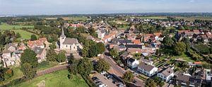 Luchtpanorama van Sint-Geertruid in Zuid-Limburg van John Kreukniet