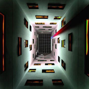 Abstrakte Perspektive II von Maurice Dawson