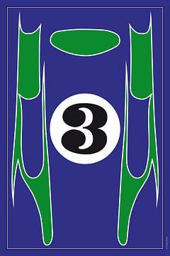 Porsche 917 Hippie, racewagenontwerp van Theodor Decker