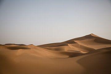 Zandduinen Marokko van Jarno Dorst