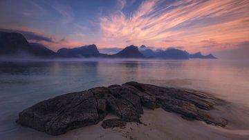 Haukland beach,Lofoten sur Sven Broeckx
