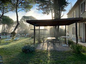 Tuin in Toscane van Emma Van Leur