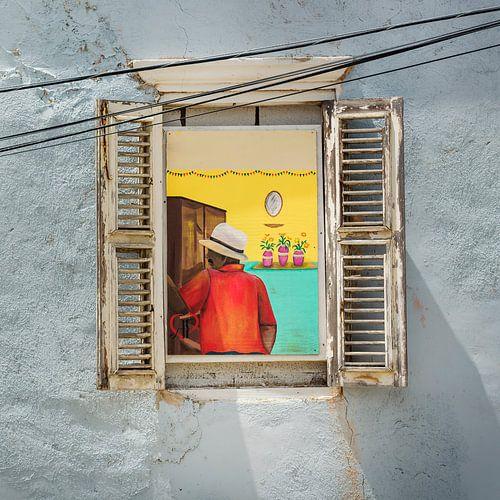 Curacao, muurschildering