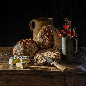Du pain frais van Miriam Meijer, en plein campagne.....