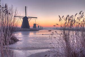 Sunrise Kinderdijk van