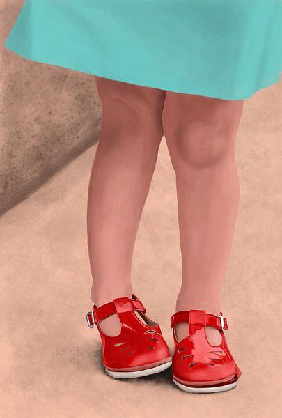 Rode Schoentjes van Kim Verhoef