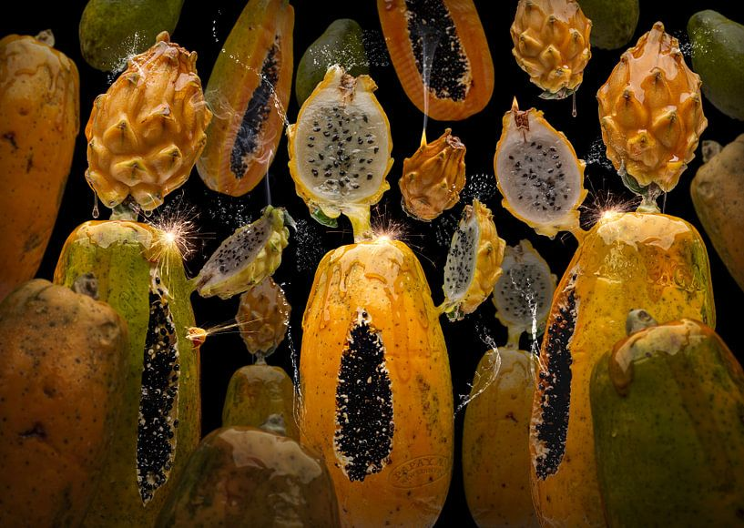 Pitaya Papaya van Olaf Bruhn
