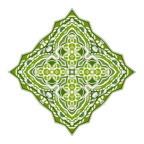 Mandala groene energie