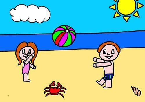 SUZ - naar het strand (zomer) van AG Van den bor