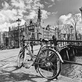 Zuiderkerk Amsterdam Nederland Zwart-Wit van Hendrik-Jan Kornelis