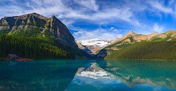 Lake Louise im Banff Nationalpark, Alberta, Kanada. von Henk Meijer Photography