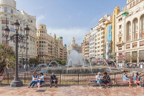 Valencia Plaza del Ayuntamiento