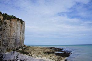 Kliffen aan de kust van Normandië van