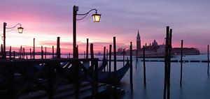 Venetië bij zonsopgang