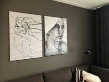 Klantfoto: 44 van Kim Rijntjes, op canvas