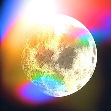 Moon Phase 1 N.2 van Oliver P_Art