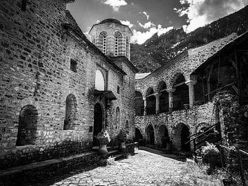 Kloster Griechenland von José Lugtenberg