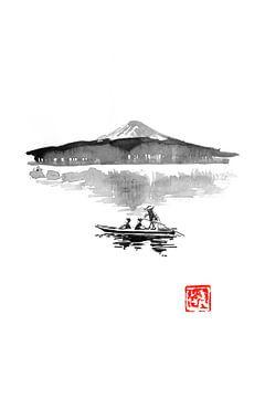 Fuji und Boot